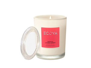 Ecoya Collection.Guava & Lychee Sorbet Candle 270g/9.5 oz