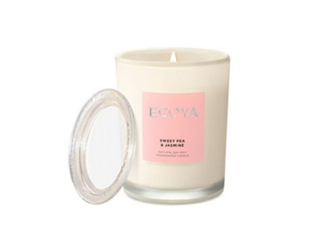 Ecoya Collection.Sweet Pea & Jasmine Candle 270g/9.5 oz