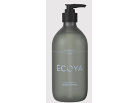 Ecoya Core Collection.Coconut & Elderflower HAND & BODY WASH 450mL/15.2FL.OZ.US