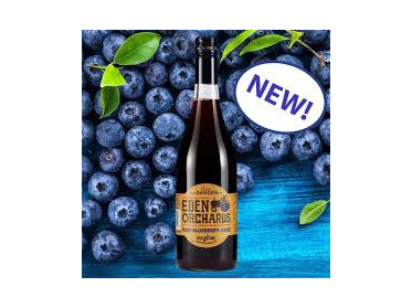 Eden Orchards Blueberry Juice 100% 750ml