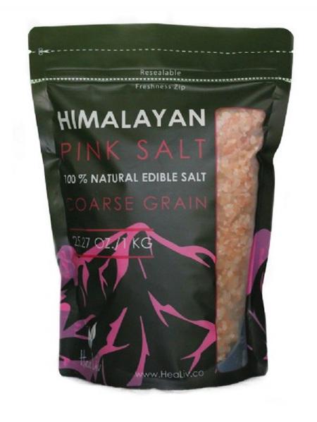 Edible Coarse Salt New Pink