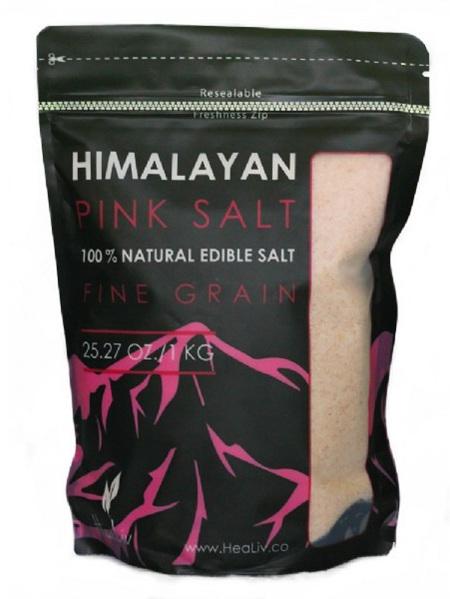 Edible Fine Salt new Pink Pack