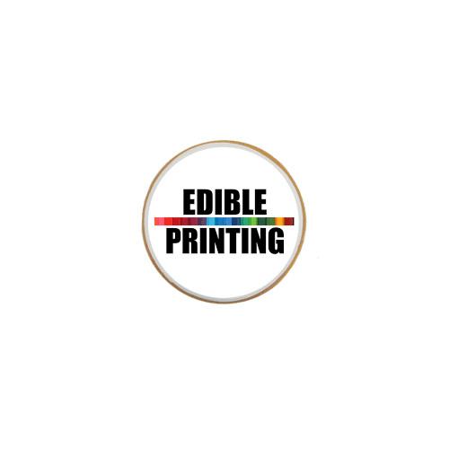 """Edible Image Printing - Circles 2.5"""" x 12"""