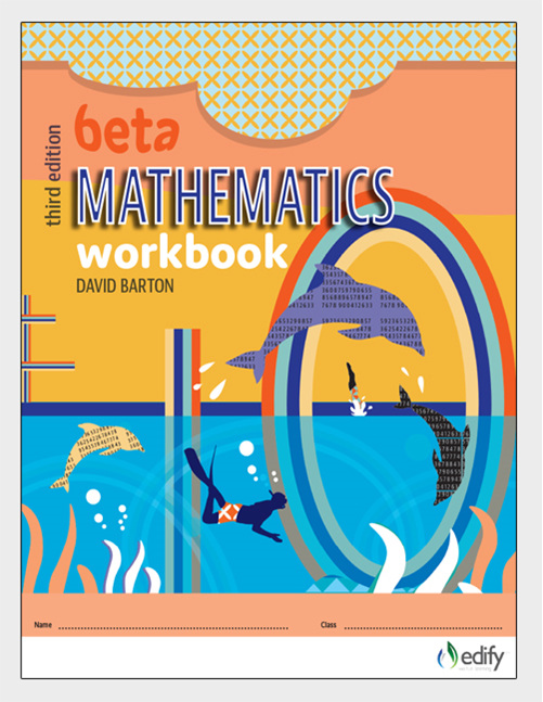 Edify Beta Mathematics Workbook 3e by David Barton