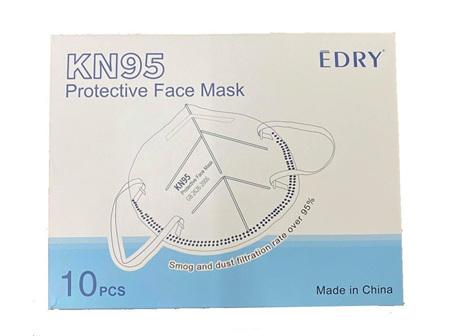 Edry Face Mask KN95 PK 10