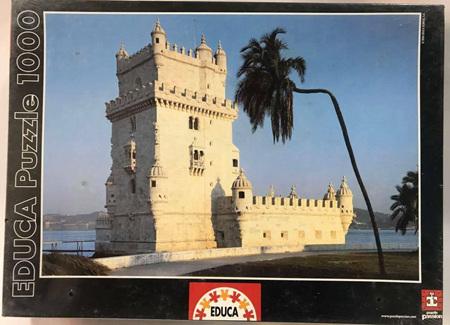 Educa 1000 Piece Jigsaw Puzzle: Belem Tower Portugal