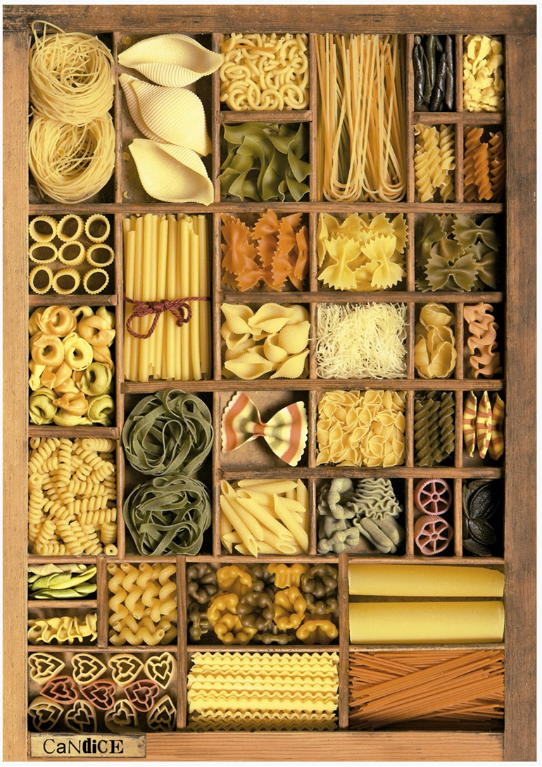 Educa 1000 piece jigsaw puzzle ES16285 Pasta Basta II  at www.puzzlesnz.co.nz