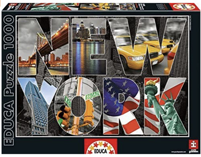 Educa 1000 Piece Jigsaw Puzzle: New York Collage