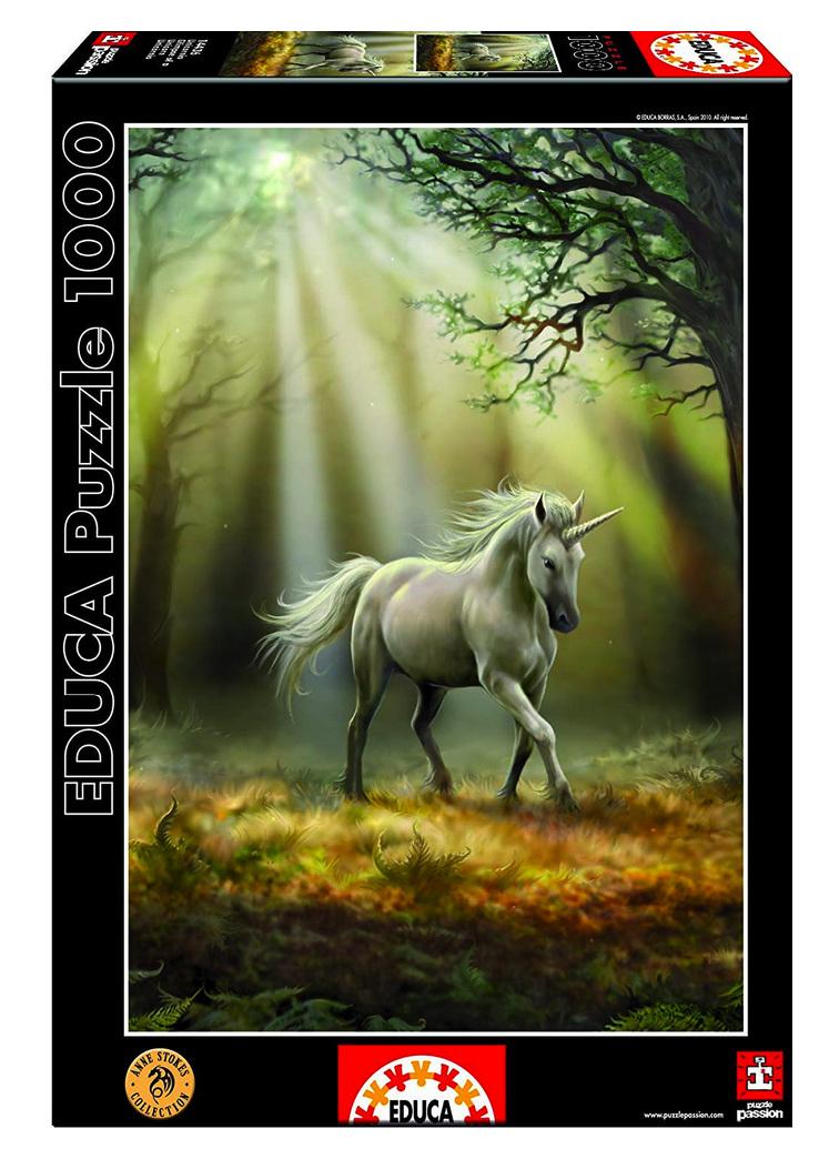 Educa 1000 piece jigsaw puzzle Unicorn buy at www.puzzlesnz.co.nz
