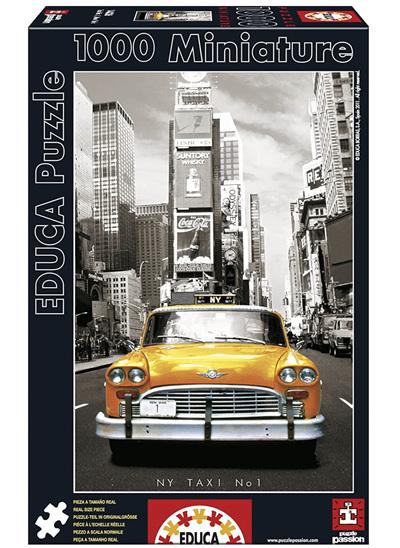Educa 1000 Piece Miniature Jigsaw Puzzle: New York Taxi No 1
