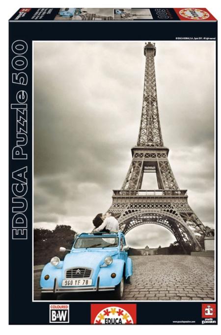 Educa 500 Piece Jigsaw Puzzle:  Eiffel Tower Paris