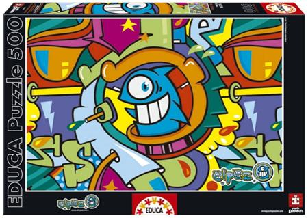 Educa 500 Piece Jigsaw Puzzle: El Pez