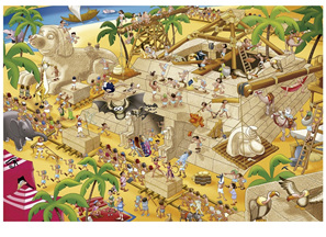 Educa 1000 Piece Jigsaw Puzzle Ancient Egypt