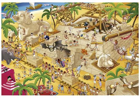 Educa 1000 Piece Jigsaw Puzzle Ancient Egypt