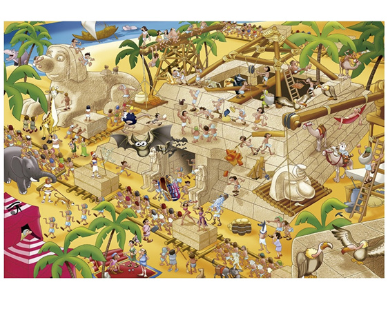 Educa ES16345 1000 piece jigsaw puzzle Ancient Egypt buy at www.puzzlesnz.co.nz