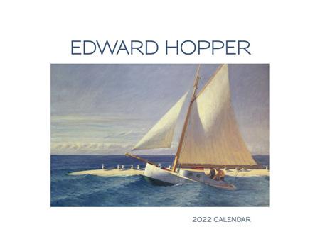 Edward Hopper 2022 Wall Calendar by Pomegranate