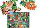 eeBoo 1000 Piece Jigsaw Puzzle: Amazon Rainforest