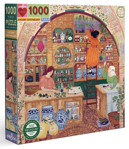 eeboo 1000 Piece Jigsaw Puzzle: Ancient Apothecary