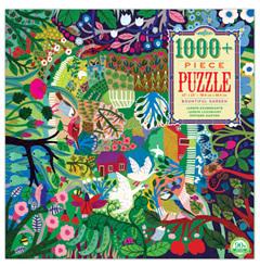 eeBoo 1000 Piece Jigsaw Puzzle: Bountiful Garden