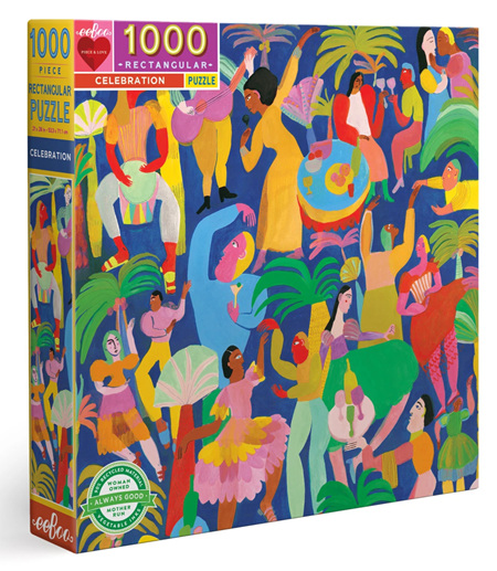eeBoo 1000 Piece Jigsaw Puzzle: Celebration