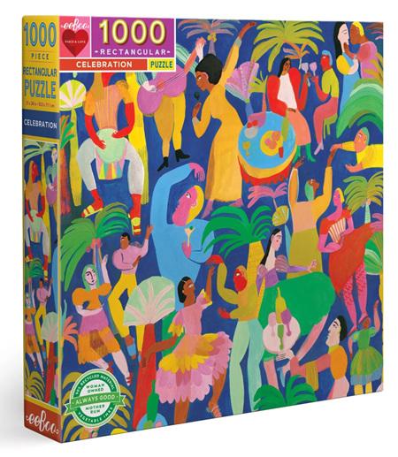 eeBoo 1000 Piece Jigsaw Puzzle: Celebration