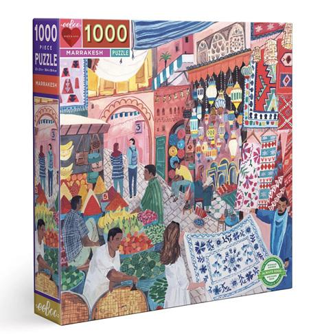 eeboo 1000 Piece Jigsaw Puzzle: Marrakesh