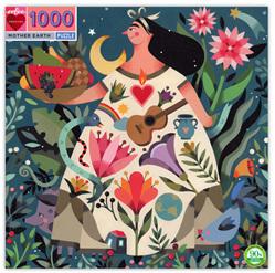 eeBoo 1000 Piece Jigsaw Puzzle: Mother Earth