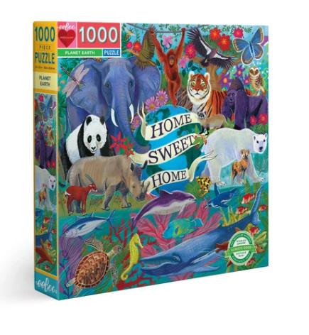 eeBoo  1000 Piece Jigsaw Puzzle: Planet Earth