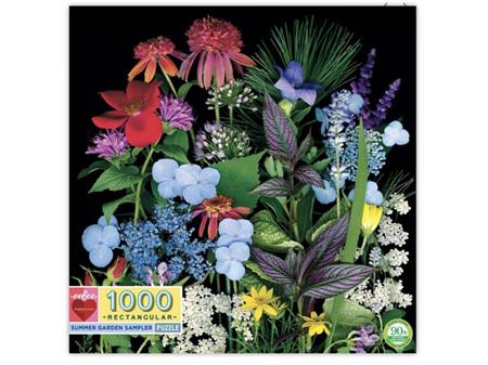 EeBoo 1000 Piece Puzzle - Summer Garden Sampler