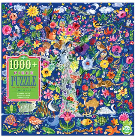 eeBoo 1008 Piece Jigsaw Puzzle: Tree Of Life