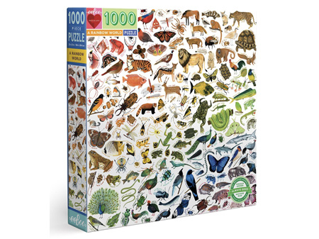 EeBoo A Rainbow World 1000 Piece Puzzle
