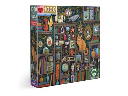 EeBoo Alchemist's Cabinet 1000 Piece Puzzle