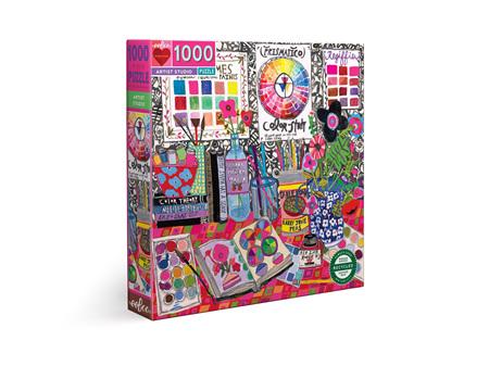 EeBoo Artist Studio 1000 Piece puzzle