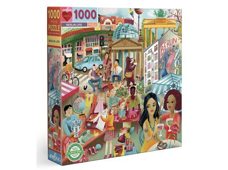 EeBoo Berlin Life 1000 Piece Puzzle