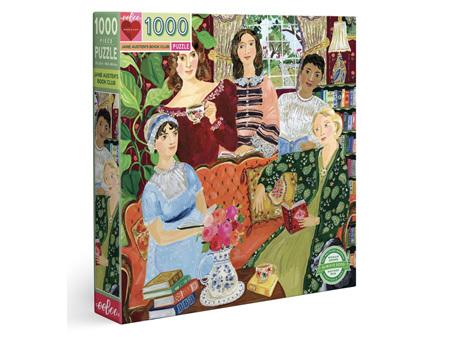 EeBoo Jane Austens Book Club 1000 Piece Puzzle