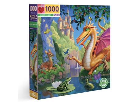 EeBoo Kind Dragon 1000 Piece Puzzle