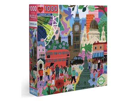 Eeboo London Life 1000 Piece Puzzle