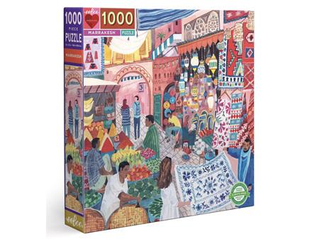EeBoo Marrakesh Square 1000 Piece Puzzle
