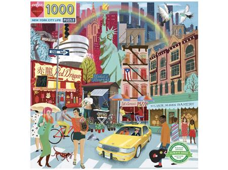 Eeboo New York City Life 1000 Piece Puzzle