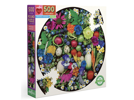 EeBoo Organic Harvest 500 Piece Puzzle