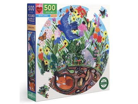 EeBoo Rewilding 500 Piece Puzzle