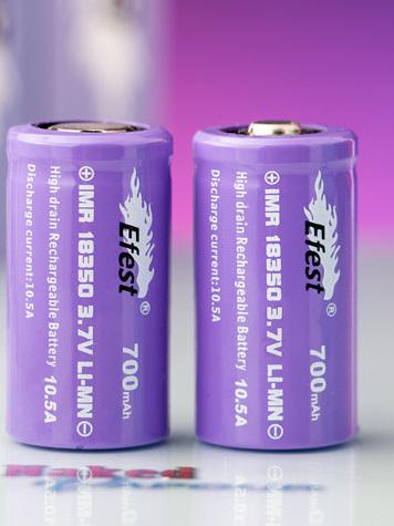 Efest Purple Series - 18350 IMR - 700mAh