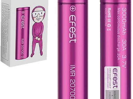 EFEST - 20700 - 3100mAh - 30A