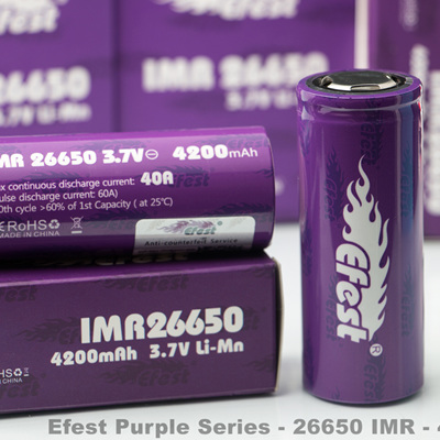 Efest Purple Series - 26650 IMR - 4200mAh