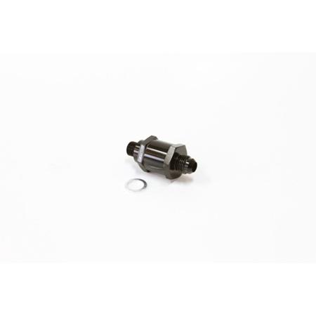 EFI Fuel Pump Check Valve -6AN (M12 x 1.5mm) - Black - AF61-506BLK