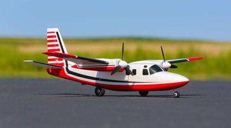 Eflite UMX Aero Commander Bind-N-Fly