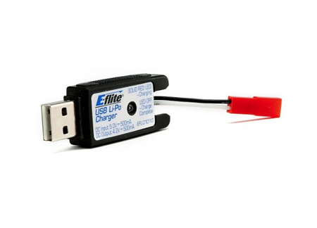 Eflite USB 1 Cell LiPo Battery Charger JST