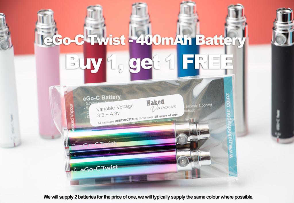 Ego C Twist 400mah Buy 1 Get 1 Free