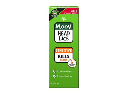 EGO Moov Head Lice Sensitive 200 Ml
