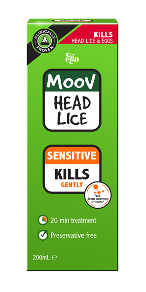 EGO Moov Head Lice Sensitive 200 Ml